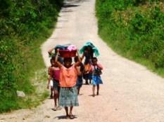 girls in Las Conchas