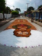 carpet before procession