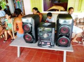 no fiesta without proper soundsystem
