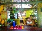 Candi in her kitchen