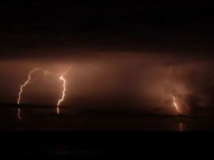 Caribbean lightning