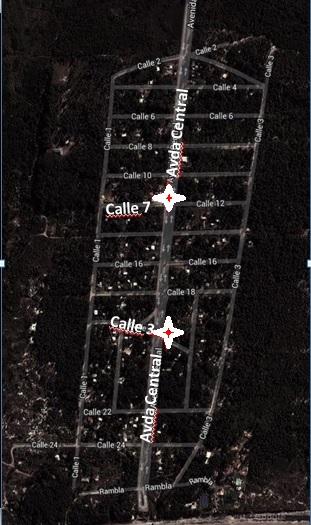 Mapa Recoleccion Guazu
