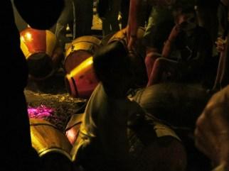 Carnaval Guazuvirá 2014 – La Previa – Los tambores
