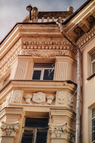петрозаводск, ссср, площадь кирова, дом, здание, архитектура