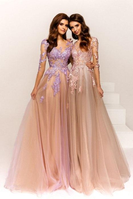 выпускное платье, розовое, в пол, летящее, платье на выпускной, бил, выпускница, наряд, купить, петрозаводск, студия, ле рина, le rina