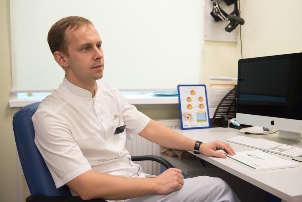 лазерная коррекция зрения, петрозаводск, карелия, офтальмологический центр карелии, прием офтальмолога, павел завадский