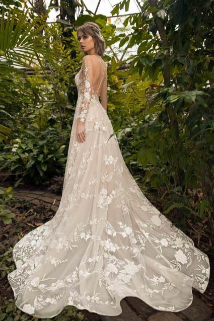 свадебное платье, кружево, белое, шлейф, ле рина, le rina, петрозаводск, студия, купить, дзержинского