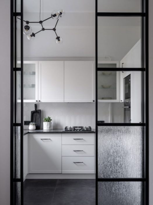 перегородка, стеклянная, кухня, интерьер, тренды, 2020, ремонт, дизайн, мода, 10 трендов