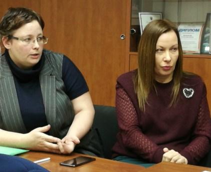 Анна Дудырина и Юлия Мизинкова