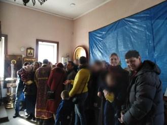 Воскресная служба в Екатерининской церкви. Фото: vk.com/t.boytsova
