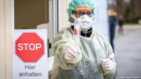карантин, Германия, коронавирус