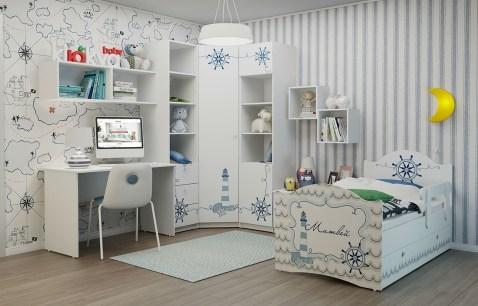 клюква, доминант, детская, комната, мебель, гарнитур, комплект мебели, для детской, идеи, дизайн, для мальчика, для девочки, петрозаводск, карелия, морской стиль