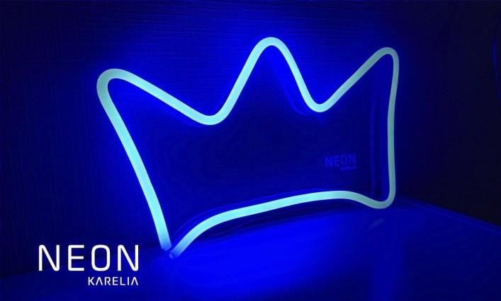 корона, неон карелия, неон, петрозаводск, заказать неоновую лампу, неоновая вывеска, доставка, карелия, neon karelia, идеи
