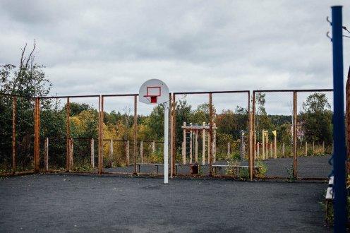 баскетбол, площадка, спорт, баскетбольное кольцо, сфк, райский уголок, купить квартиру, карелия, за городом, марциальные воды, новостройки, ипотека, жилье, квартиры в карелии, таунхаус