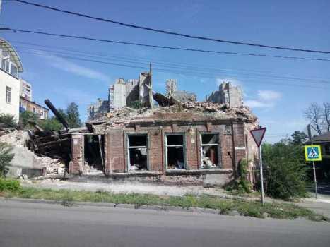 """Дом после пожара. Фото: """"МК"""""""