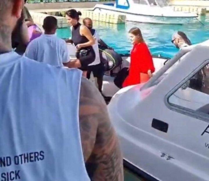 Вебер, Мария, яхта