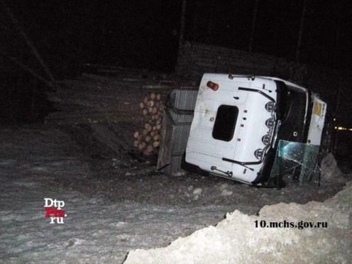 Авария на трассе кола