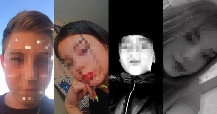 Четверо друзей, погибших в ДТП. Фото: соцсети