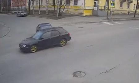 Столкнулись на перекрестке