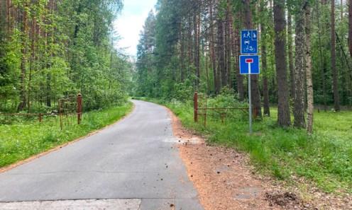 Дорогу к даче Парфенчикова перекрыли