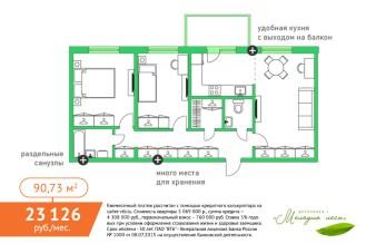 Петрозаводск квартира КСМ