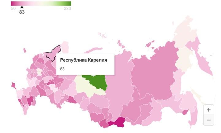 жители Карелии могут сварить только 83 борща в месяц