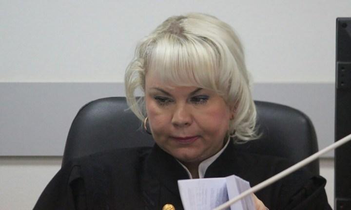 Судья Елена Голяева