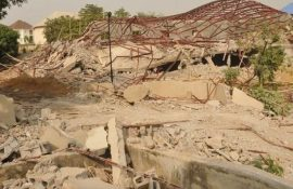 Patience Jonathan's Property Demolished In Abuja