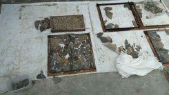 Studio mozaik Pak Iwan, di dekat Terminal Bareh Solok