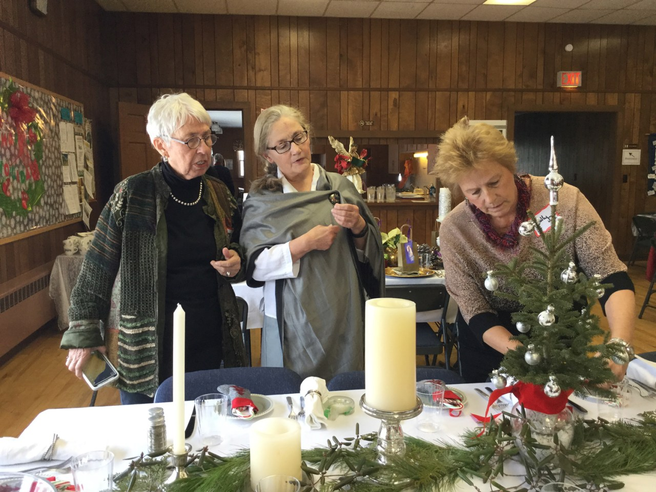 """2016 – """"Shelly helping Valdine and Betsy's table"""""""