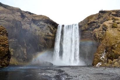La cascata di Skogafoss