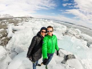 La laguna di iceberg di Jökulsárlón
