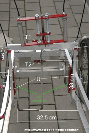 4 Wheel Bike pedals