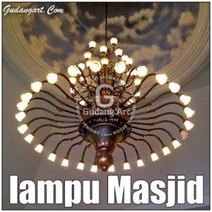 Lampu Masjid | Lampu Gantung Masjid GudangART