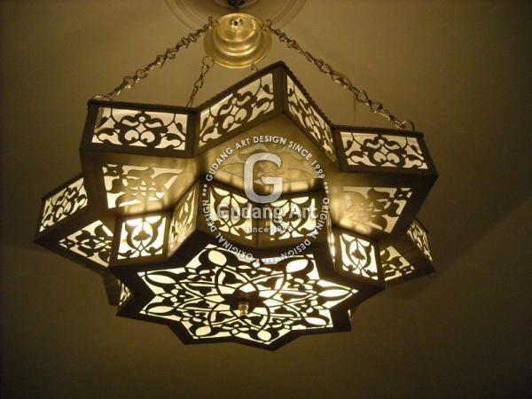 Lampu Gantung Tembaga