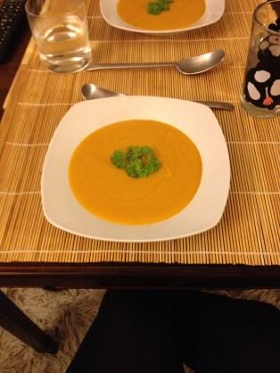 Græskarsuppe
