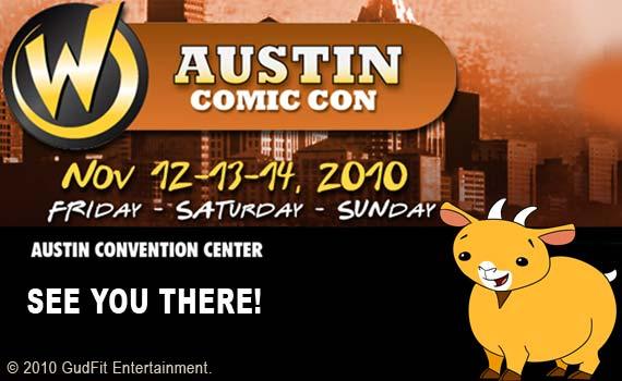 Austin Comic Con Curry Goat