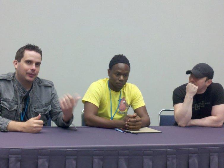 AJ, Jon Hughes, David Mack