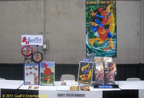 GudFit - Super Newts San Diego Comic Con