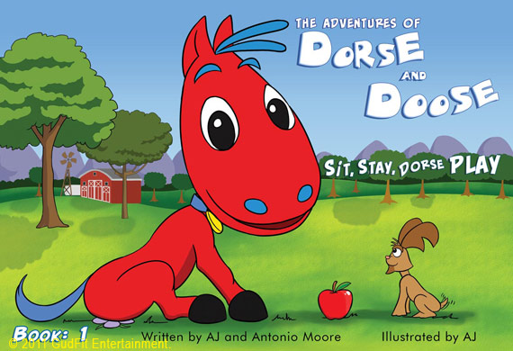 Cover - Sit, Stay, Dorse Play; Book#1