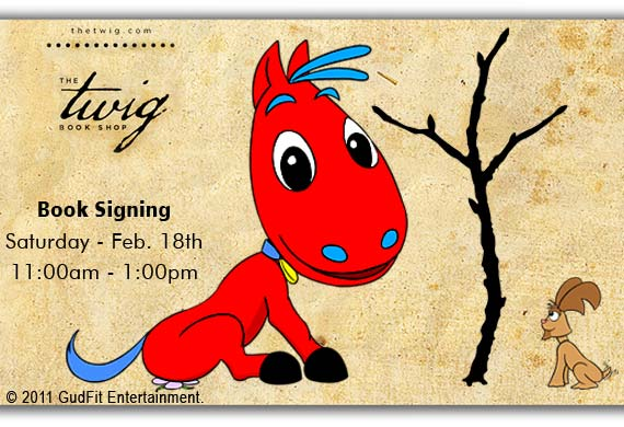 Twig Book Signing - GudFit Entertainment