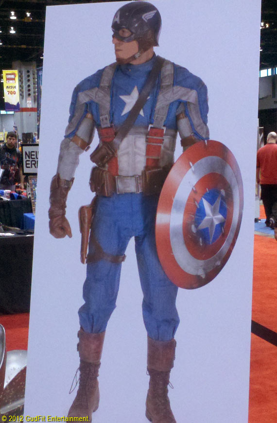C2E2 - Captain America Concept Art - GudFit Entertainment