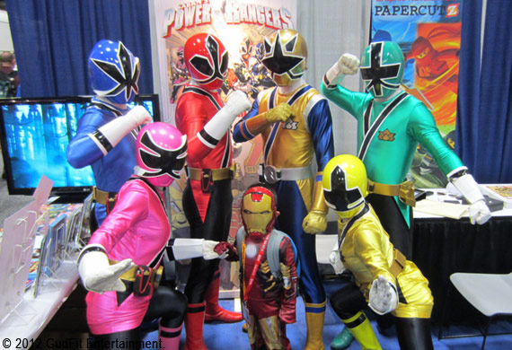 San Diego Comic Con - Power Rangers - GudFit