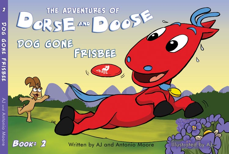 Dorse and Doose Book2 Cover - GudFit Entertainment