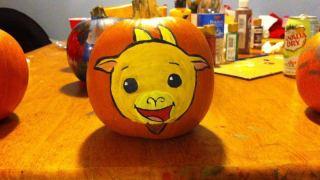 Curry Goat Halloween fanart Kody_Koala