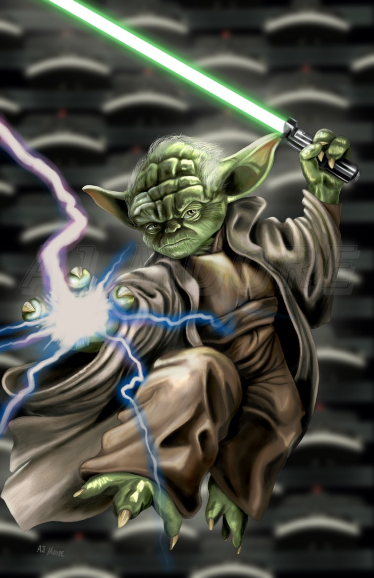 Yoda - by AJ Moore
