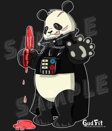 Dark Lord Chi Chi Panda by Gudfit. Art by Artist AJ Moore