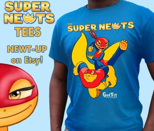 Super Newts Tees!