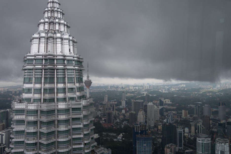 KL Tower and Petronas