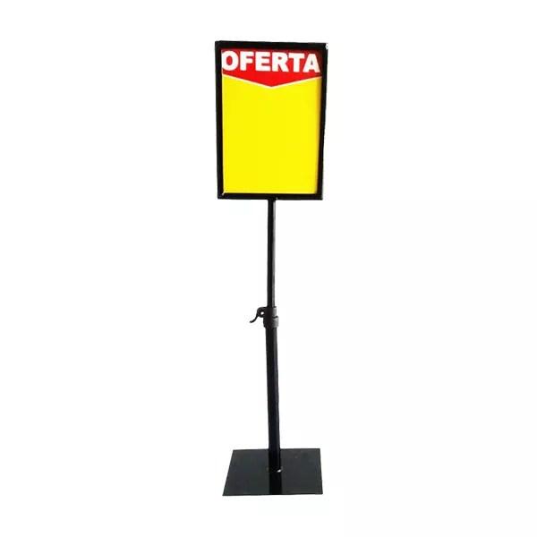 Porta Cartaz Supermercado (Cartaz 15x21cm) min. 10 peças 1